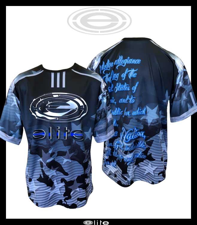 b0f1d7df1d56 Elite Jersey - ESD 947 American Elite Blue Line - Elite Sports USA